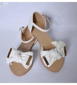 Sandale femme blanche Inès