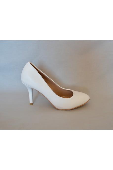 edac712ba0e2 Chaussure mariage blanche Elsa
