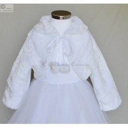 Manteau ceremonie fille Capucine