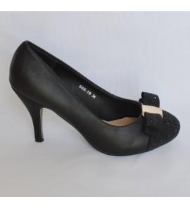 Chaussure de soirée noire Nelly