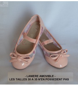 Ballerine rose Rachelle