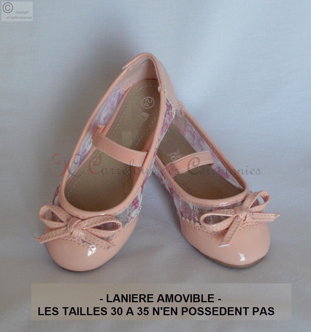 8505bb1731313 Ballerine rose pale