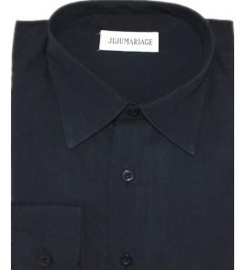 Chemise noir JUJU 2A/4A/6A mariage