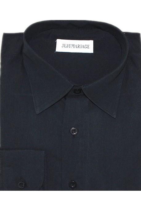 Chemise noir JUJU mariage