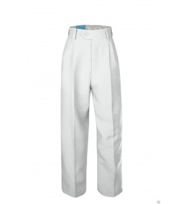 Pantalon communion blanc