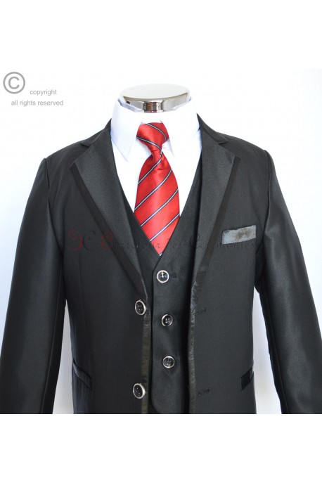 costume Frederic noir