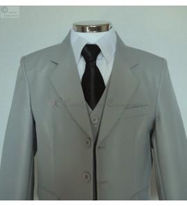 costume Emilio gris clair
