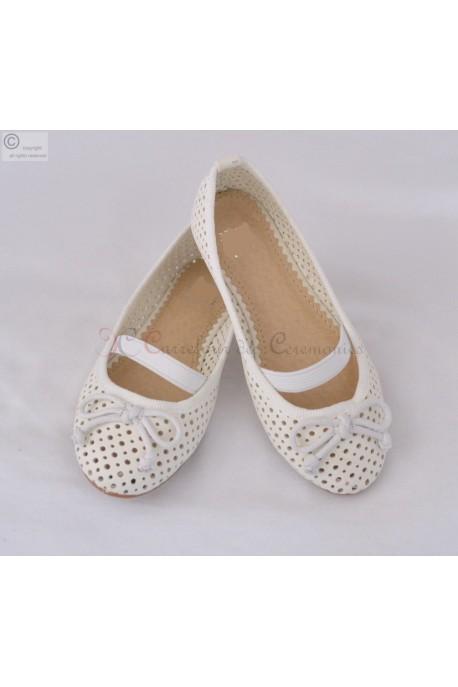 Chaussure Mariline ecru