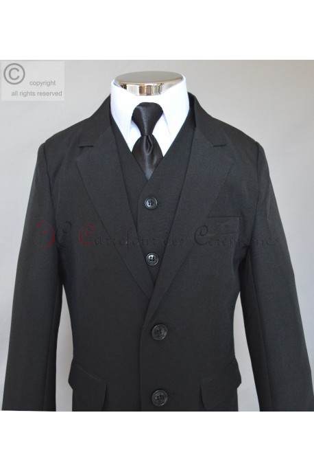 costume Fabien noir