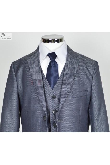 Costume gris bleu Valentin