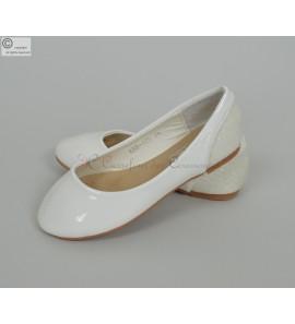 Ballerine blanche Eva