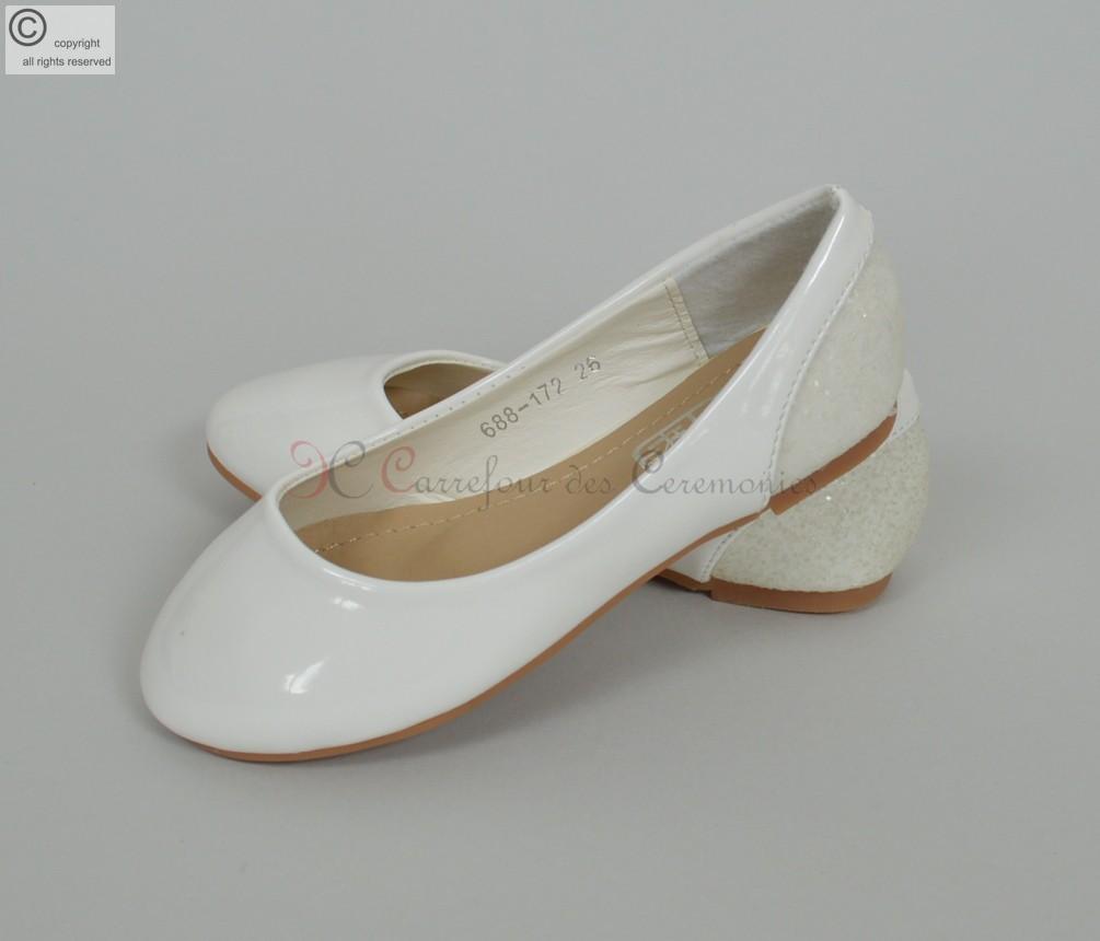 4e2474fa27a10 Ballerine blanche 36   Comadd