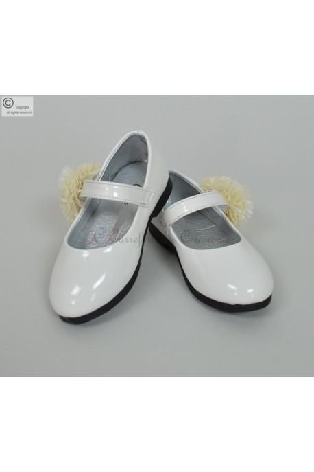 Chaussure bébé blanche Arielle