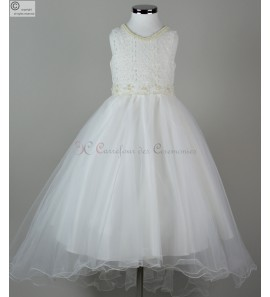 robe ceremonie fille Cendrillon