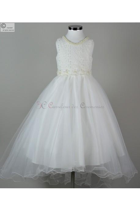 robe ceremonie fille Cendrillon