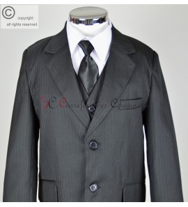 costume Bob noir raye