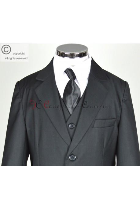 costume ceremonie Clément noir