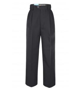 Pantalon taille reglable noir