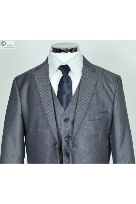 costume gris Fabrice