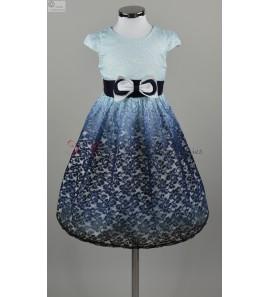 robe bleu marine beatrice carrefour des ceremonies. Black Bedroom Furniture Sets. Home Design Ideas