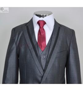 costume gris Vincent