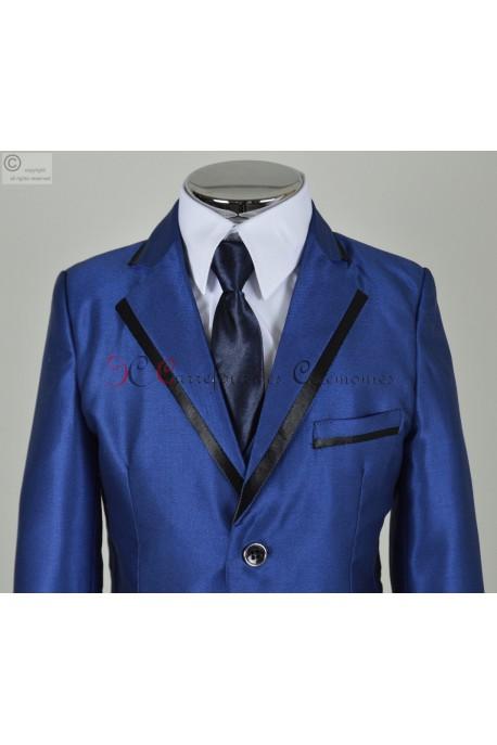 costume enfant bleu roi Stephane