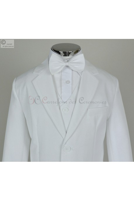 costume communion blanc Victor