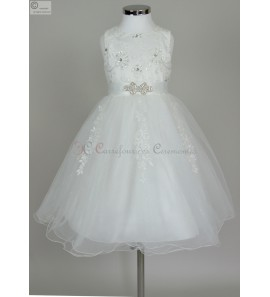 robe ceremonie fille Lou