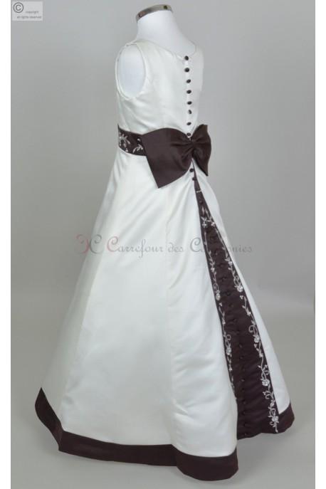 robe longue Demoiselle d'honneur Belle