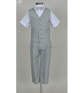 Ensemble court gris Danny
