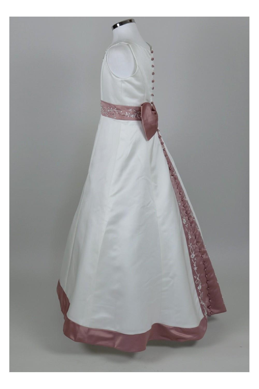 robe longue demoiselle d 39 honneur ysa. Black Bedroom Furniture Sets. Home Design Ideas