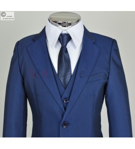 costume Alexandre bleu