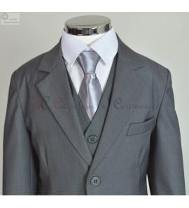 costume Gregoire gris