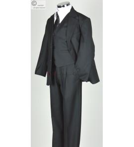 costume garçon noir François