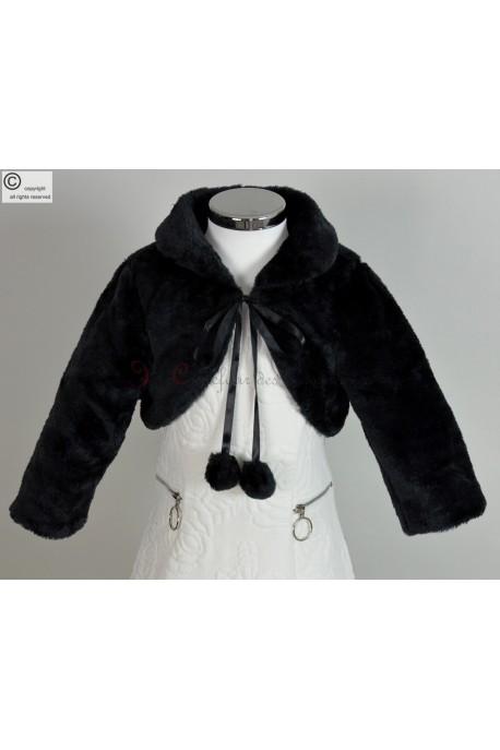 Manteau de soiree fille
