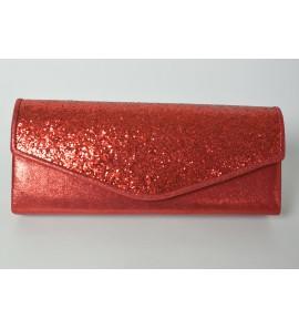 Pochette rouge pour soiree