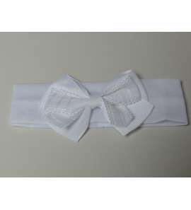 Bandeau blanc simple