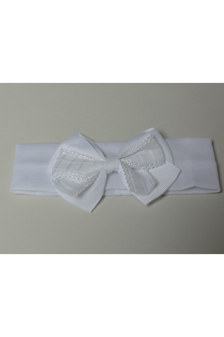 Bandeau blanc simple