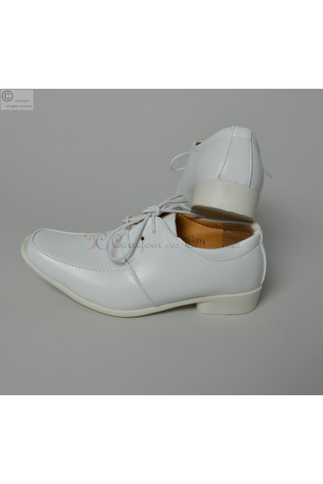 Chaussure blanche Claude