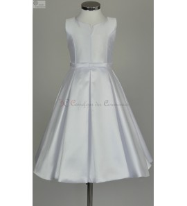 robe fille blanche Lina