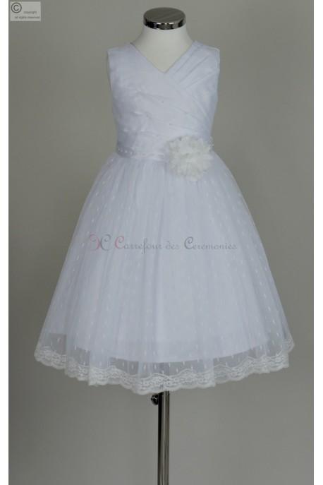 robe pour communion Gariné