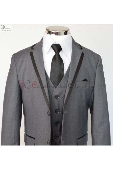 costume enfant Tristan gris