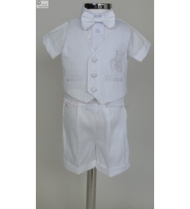 Ensemble blanc pour bebe Jones
