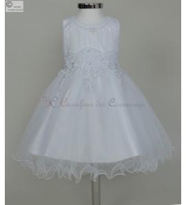 robe bebe bapteme Dafné