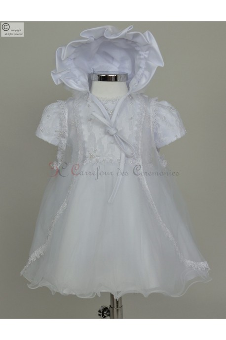 Robe de bapteme Shalice
