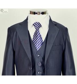 costume bleu marine Jacques