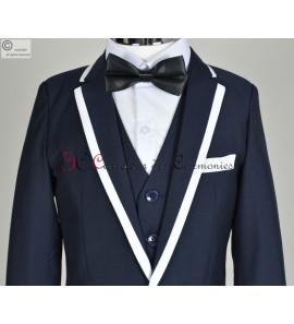costume Thibault Bleu marine
