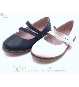 Chaussure bathilda blanche ou noire