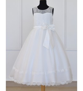 7a46059962b11 Robe de communion fillette - Carrefour des Ceremonies