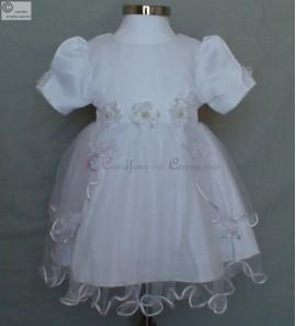 robe bapteme blanche 3 MOIS Alice